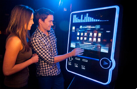 Touchtunes Virtuo Digital Jukeboxes