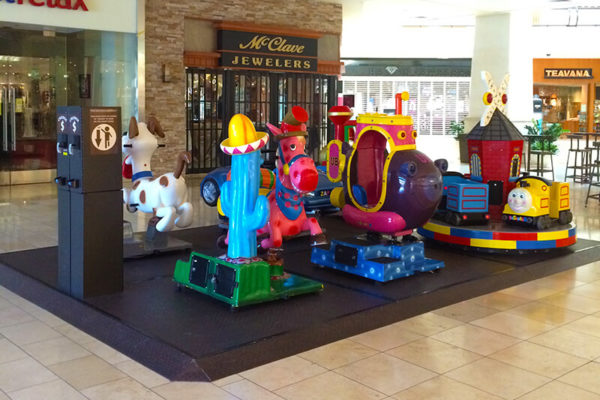 Malls Kiddie Ride Patform -The Oaks Mall