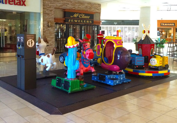 Kiddie Ride Platform -The Oaks Mall