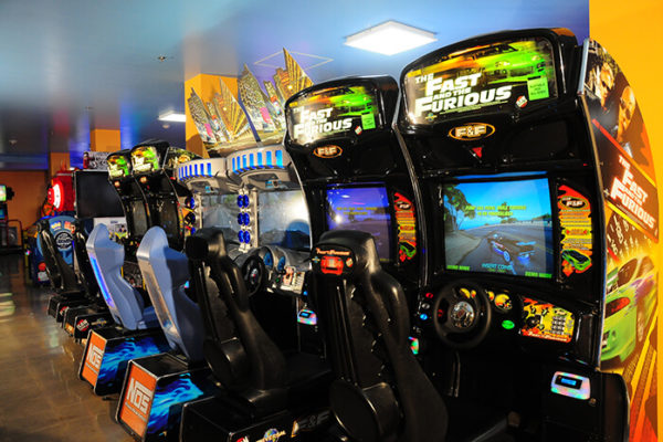 Knott's Entertainment Center – Driving Games