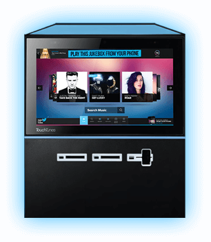 Touchtunes Playdium Digital Jukebox