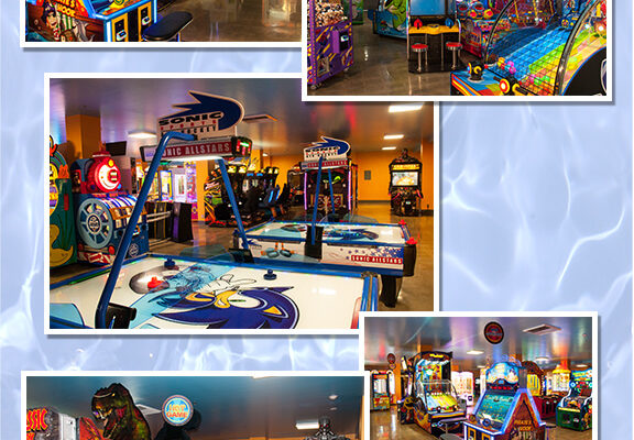 Arcade Games, Jurrassic Park, Air Hockey