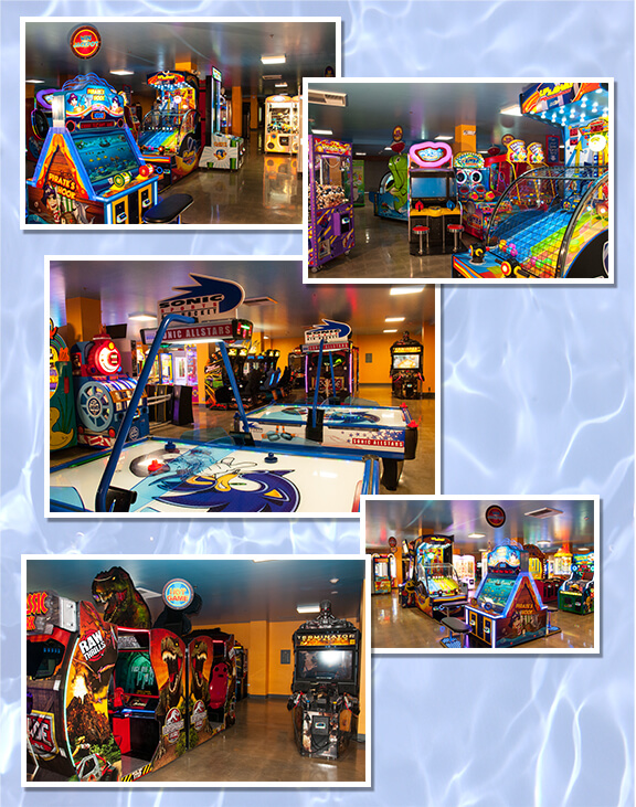 Arcade Games, Jurrassic Park, Air Hockey