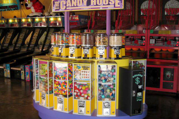 Candy House Vending Machines Malls