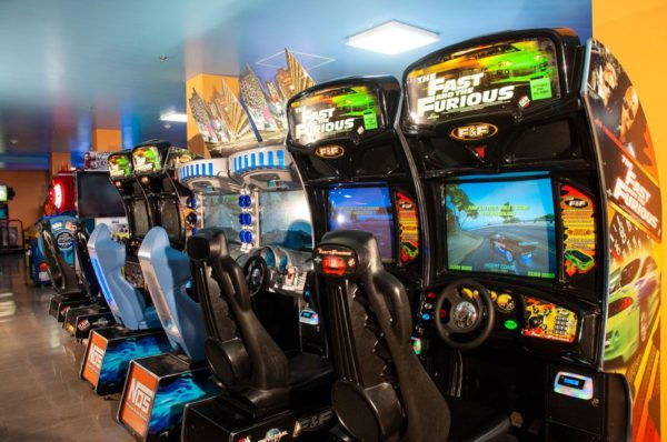 Knott's Entertainment Center Driving Games