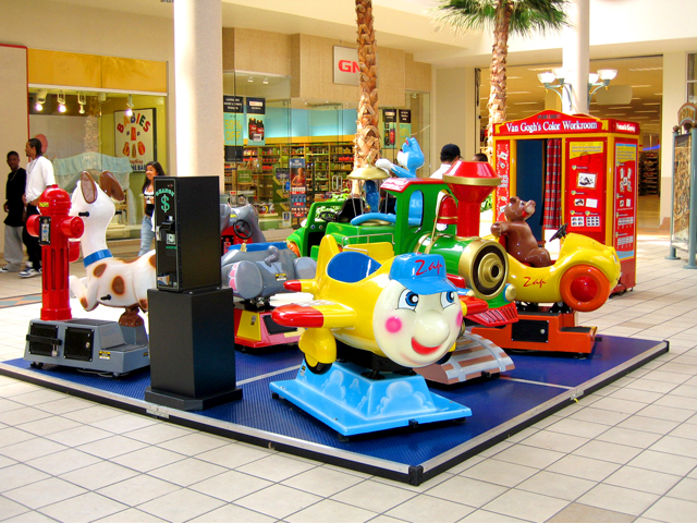 Mall Kiddie Ride Platform