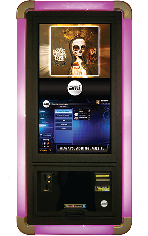 AMI NGX Classic Digital Jukeboxes