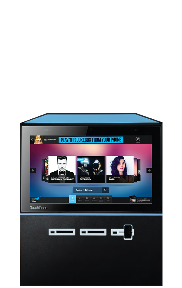 Touchtunes Playdium Digital Jukeboxes