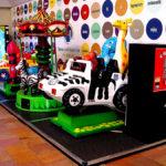 Malls Kiddie Ride Patform