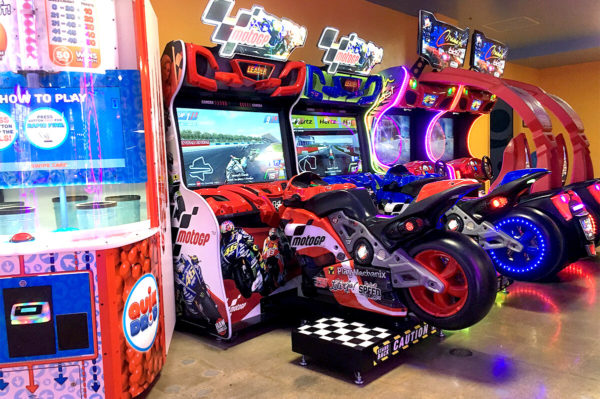Knott's Entertainment Centers – MotoGP Arcade Game