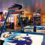Sonic Air Hockey Game